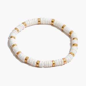 Madewell Beaded Puka Shell Bracelet